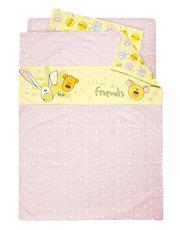 Постельное белье в детскую кроватку для девочки