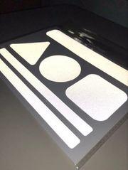 Светоотражающие тканевые наклейки